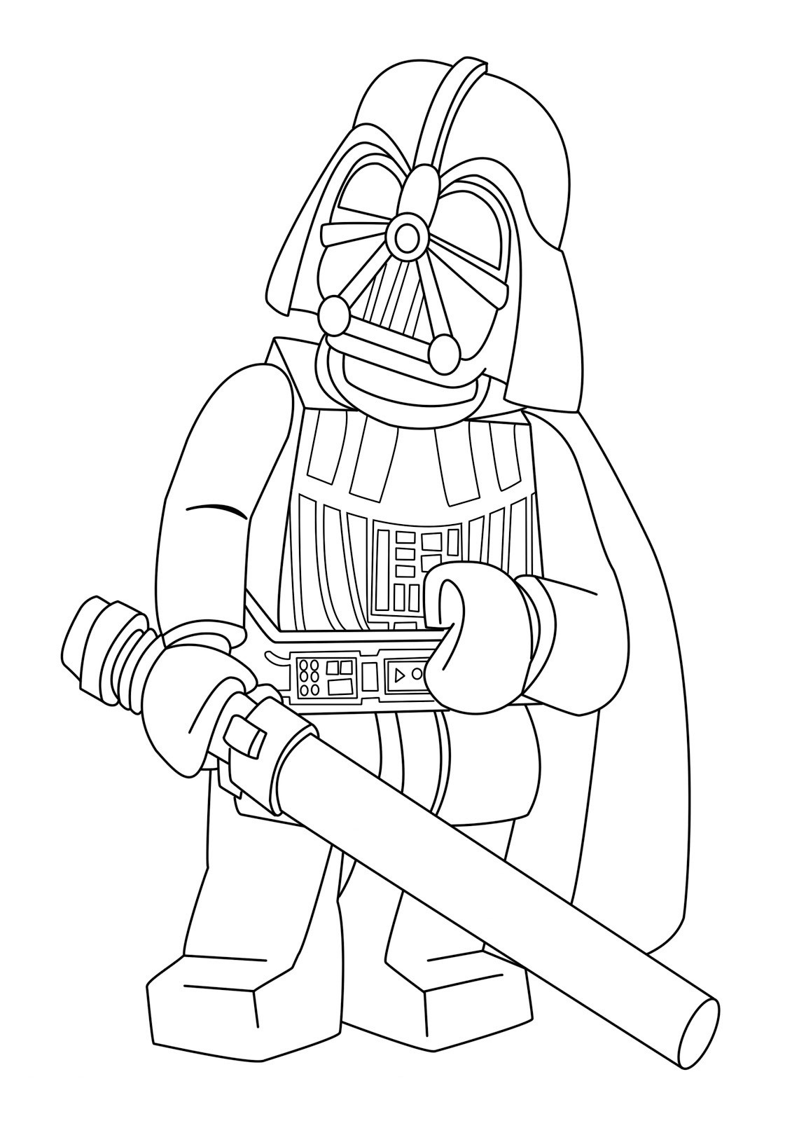 Lego Star Wars Coloring Pages  Star Wars Coloring Pages Free Printable Star Wars