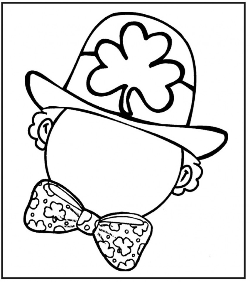 Leprechaun Coloring Pages  Get This Free Leprechaun Coloring Pages to Print 6pyax