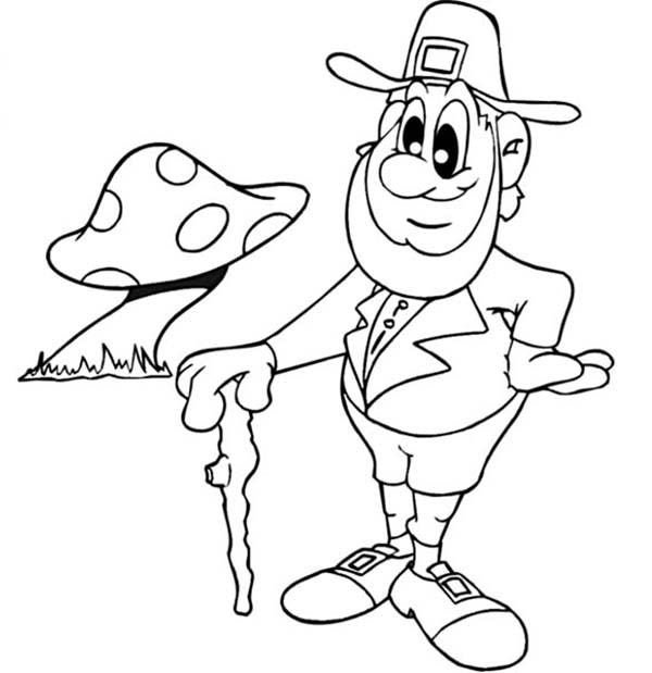 Leprechaun Coloring Pages  Leprechaun Coloring Pages Best Coloring Pages For Kids