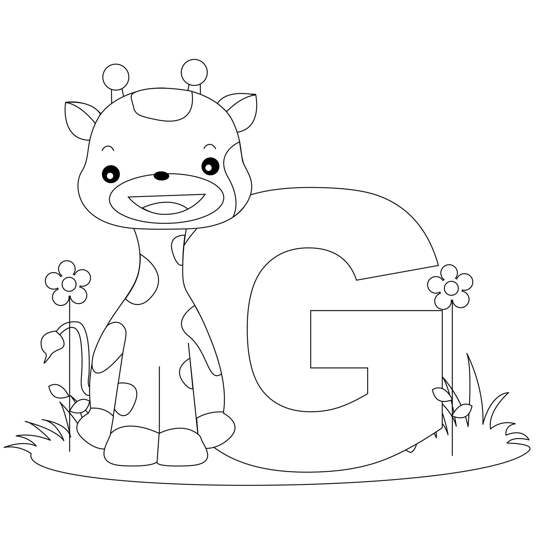Letter A Coloring Pages For Toddlers  Free Printable Alphabet Coloring Pages for Kids Best