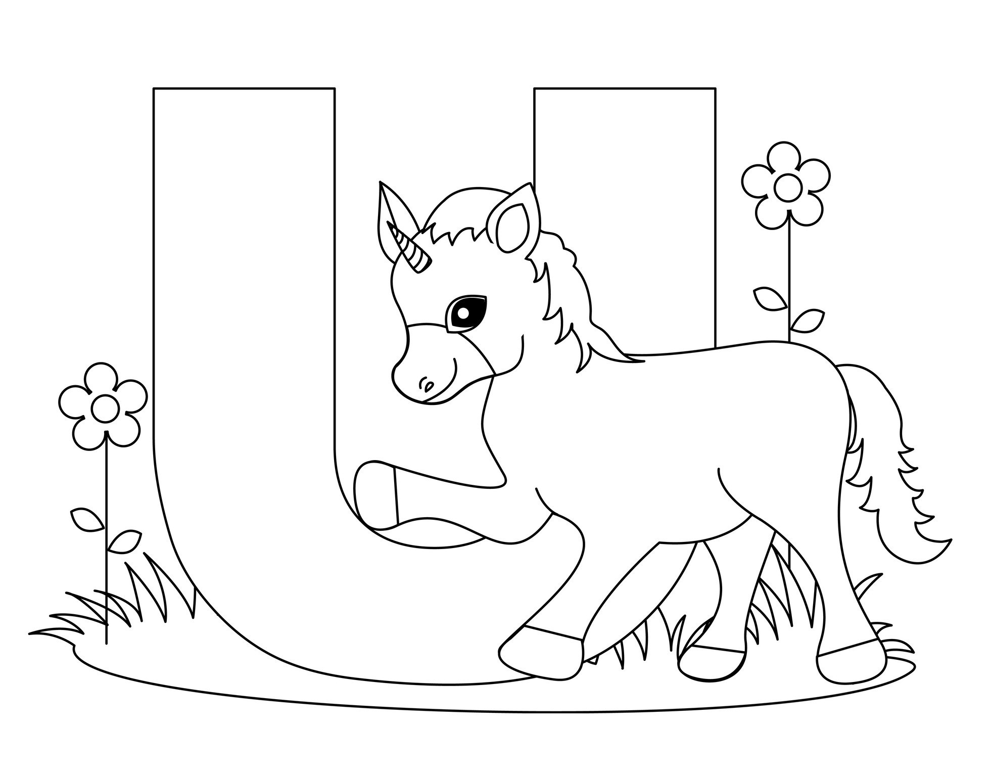 Letter M And V Togueter Coloring Pages For Girls Printable  Free Printable Alphabet Coloring Pages for Kids Best