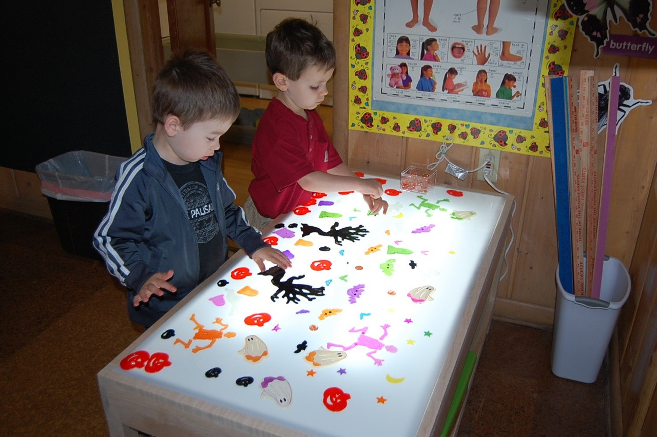 Best ideas about Light Table For Kids . Save or Pin Our New Light Table Now.