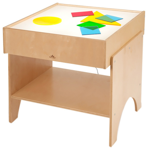 Best ideas about Light Table For Kids . Save or Pin Whitney Brothers Kids Children Learning Shapes Color Now.