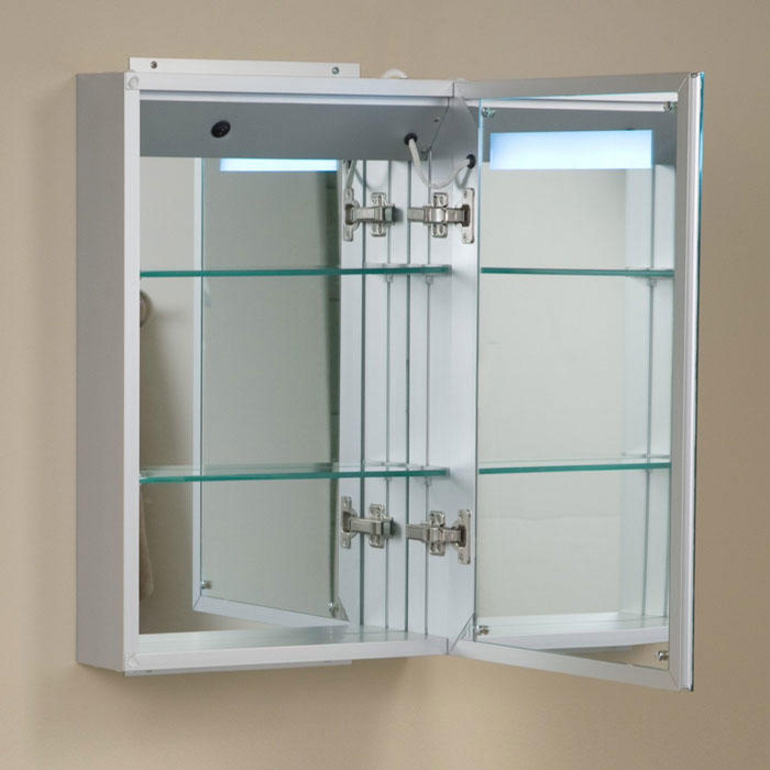 Best ideas about Lighted Medicine Cabinet . Save or Pin Brilliant Aluminum Medicine Cabinet with Lighted Mirror Now.