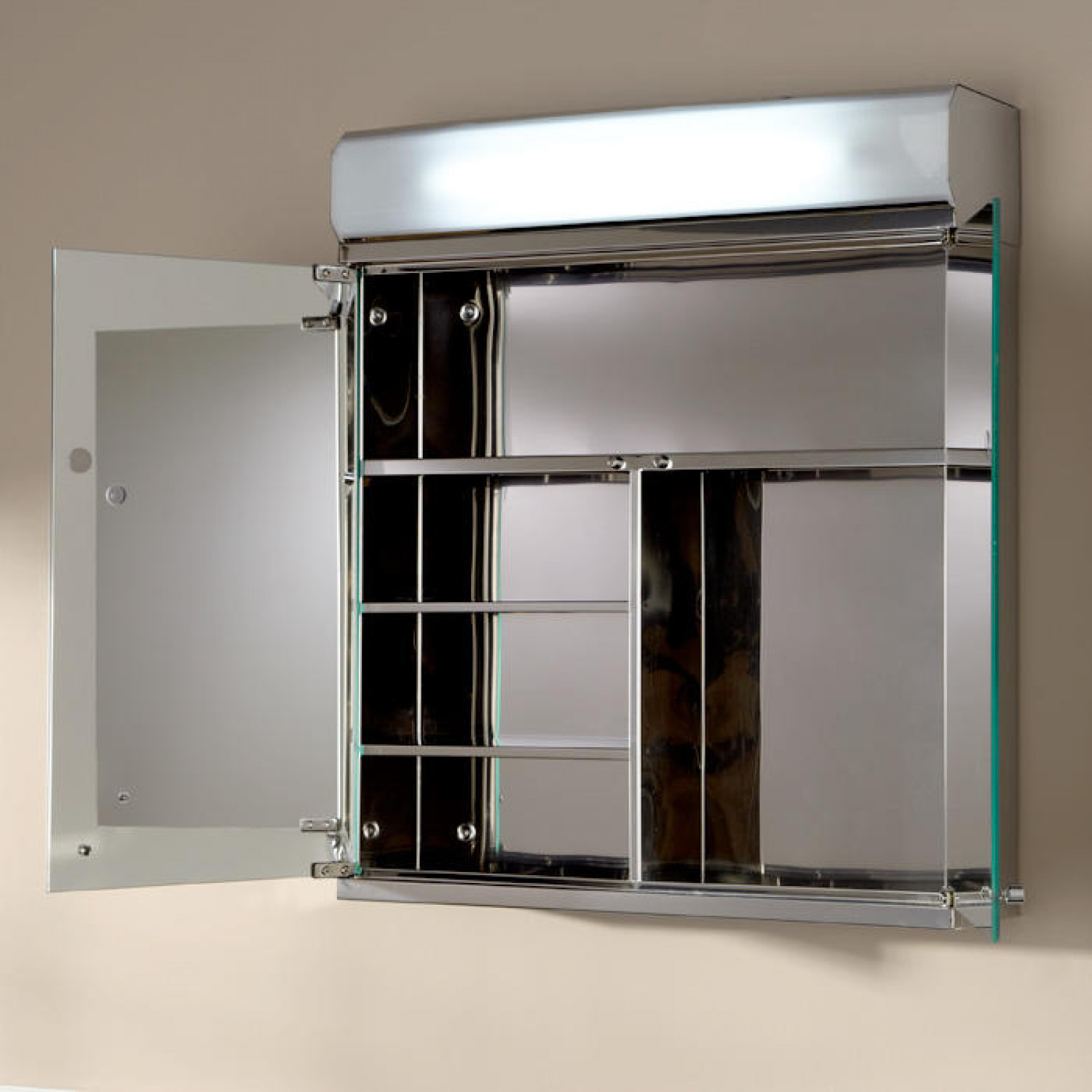 Best ideas about Lighted Medicine Cabinet . Save or Pin Delview Stainless Steel Medicine Cabinet with Lighted Now.