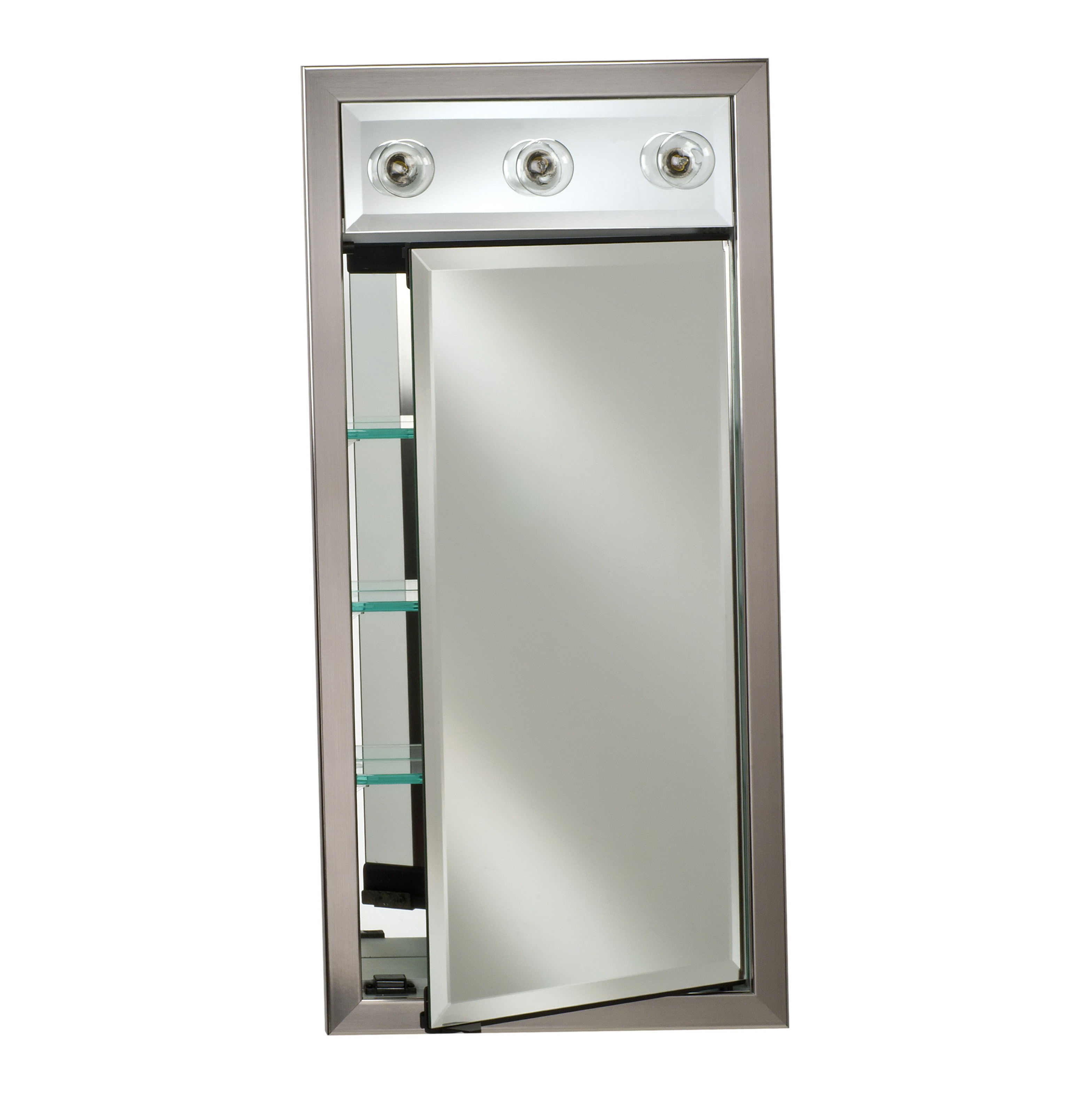 Best ideas about Lighted Medicine Cabinet . Save or Pin Lighted Medicine Cabinets Recessed Now.