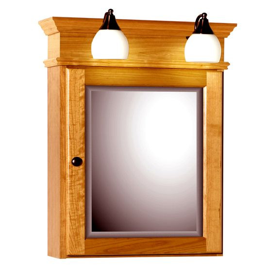Best ideas about Lighted Medicine Cabinet . Save or Pin oak medicine cabinet with lights – Roselawnlutheran Now.