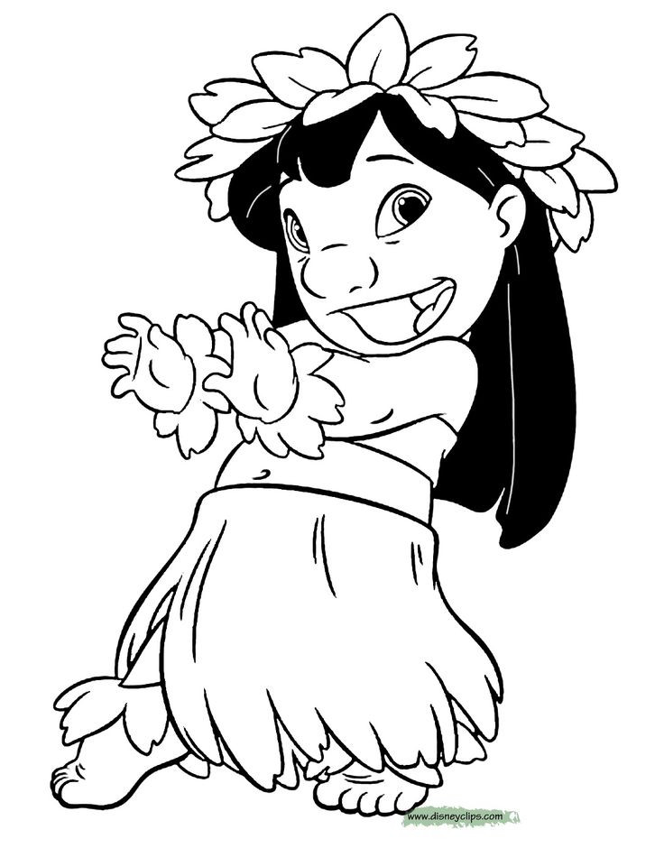Lilo And Stitch Coloring Book  7 best Lilo e Stitch Disegni da Colorare images on Pinterest