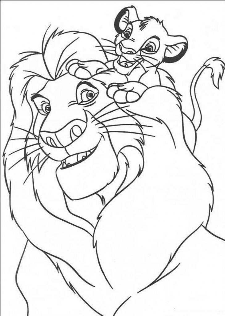 Lion King Printable Coloring Pages  Free Printable Simba Coloring Pages For Kids