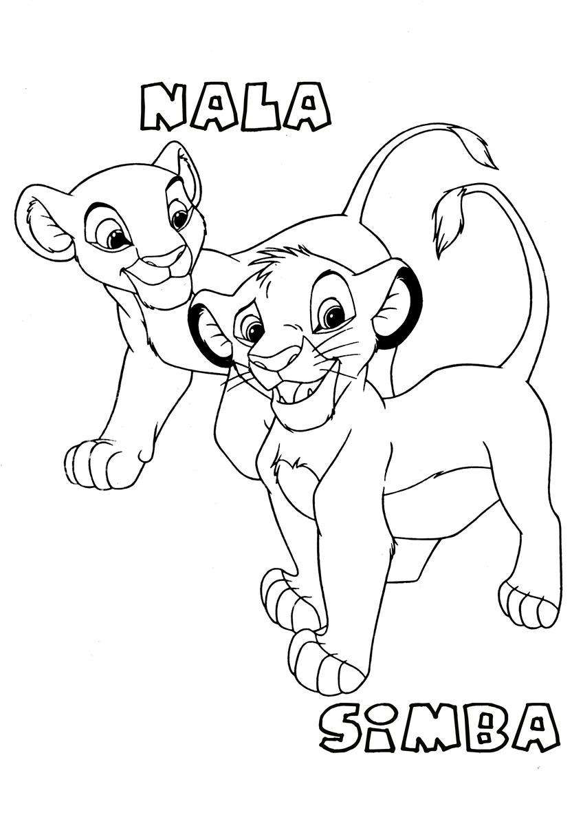 Lion King Printable Coloring Pages  Lion King Coloring Pages Best Coloring Pages For Kids