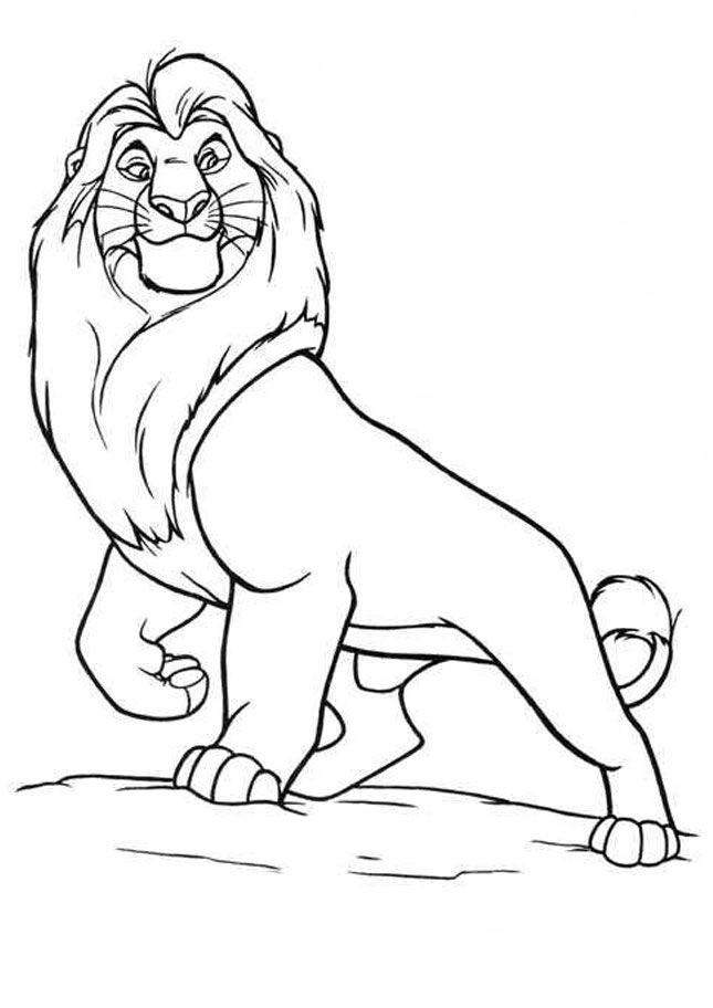 Lion King Printable Coloring Pages  Printable The Lion King Coloring Pages