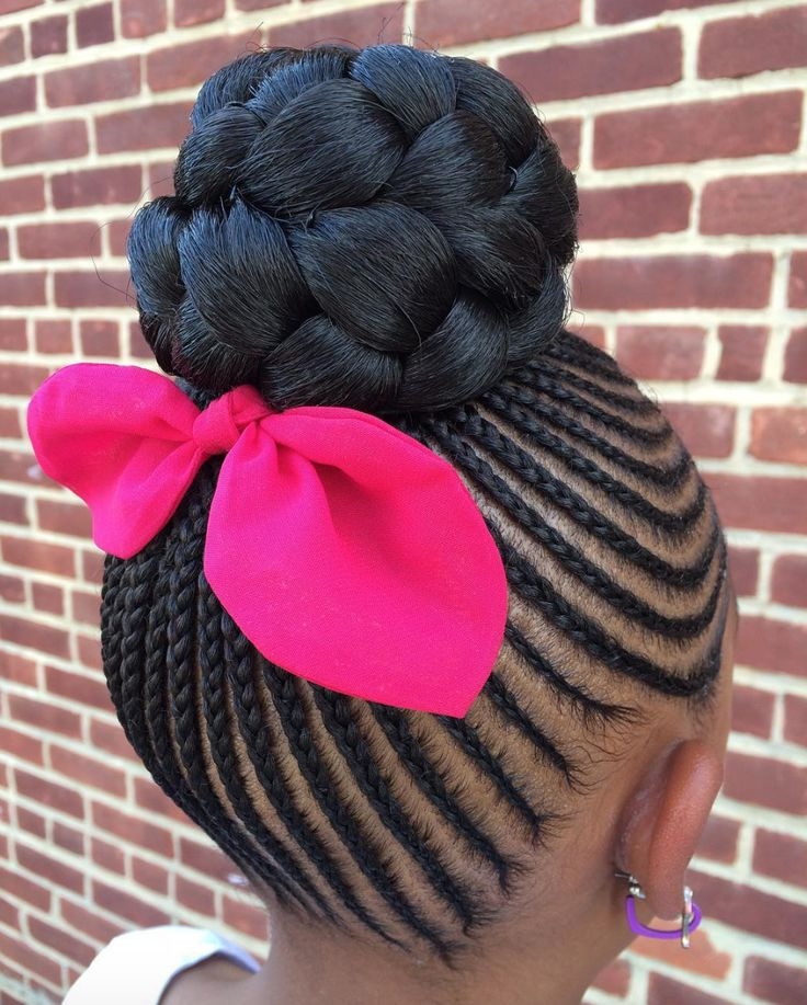 Little Girl Braids Hairstyles  little black girl hairstyles no braids Little Black Girl