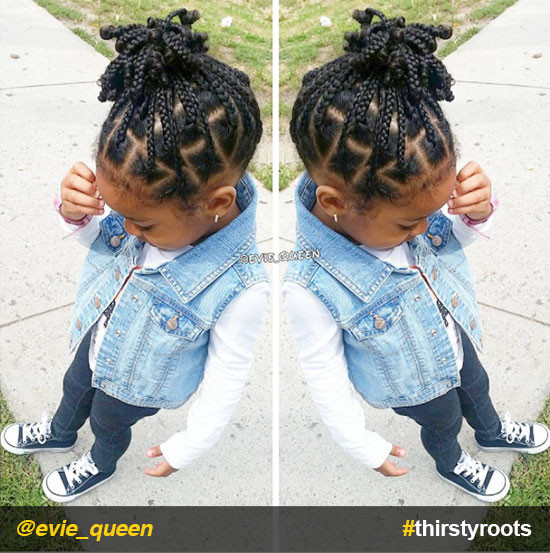 Little Girl Braids Hairstyles  20 Cute Natural Hairstyles for Little Girls