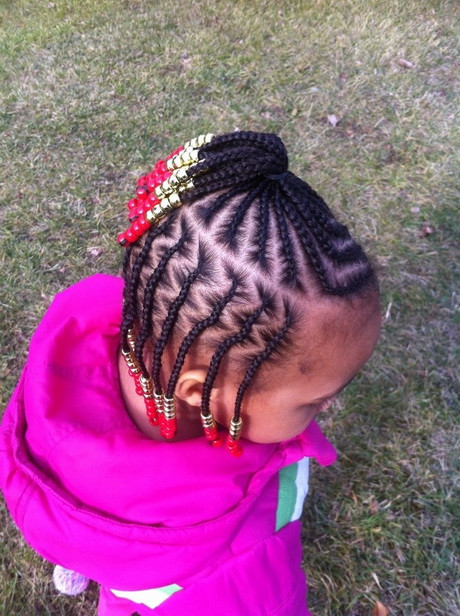 Little Girl Braids Hairstyles  The gallery for African Hair Braiding Styles For