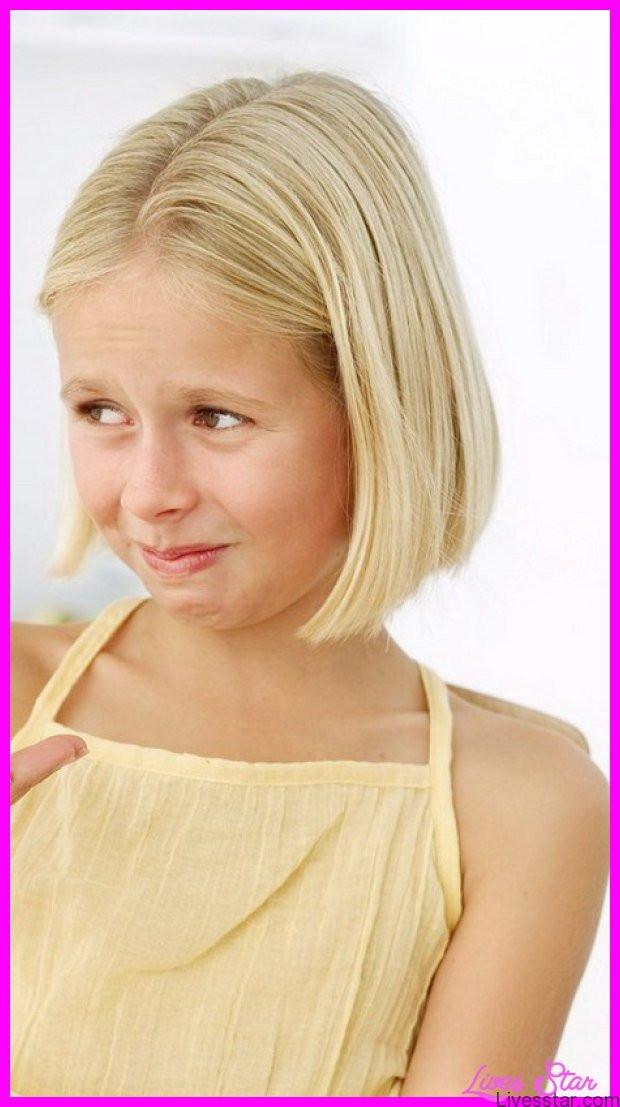 Little Girl Haircuts  Cute medium length haircuts for little girls LivesStar