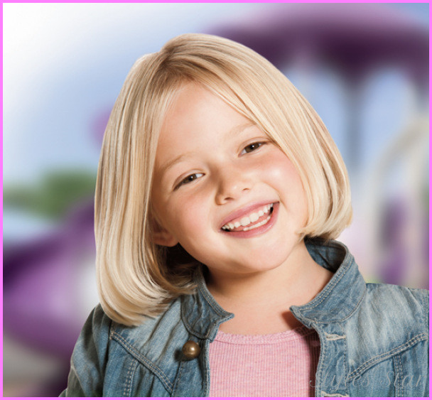 Little Girl Haircuts  Little girl bob haircuts StylesStar
