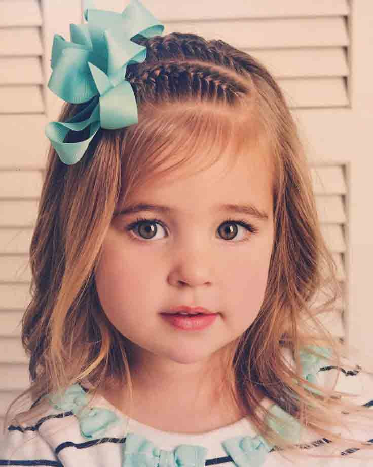Best ideas about Little Girl Hairstyles 2019 . Save or Pin Little Girls Hairstyles For Eid 2019 In Pakistan – FashionEven Now.