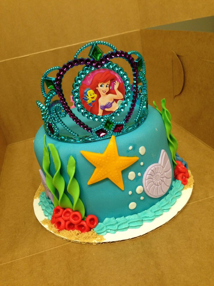 Little Mermaid Birthday Cake  1000 images about Ariel Little Mermaid Party Ideas on