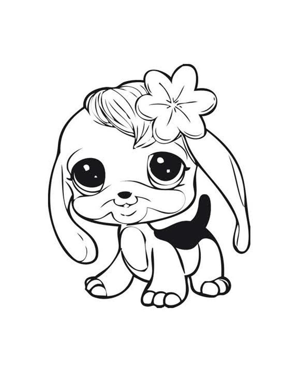 Littlest Pet Shop Coloring Pages  Littlest Pet Shops Coloring Page for My Kids