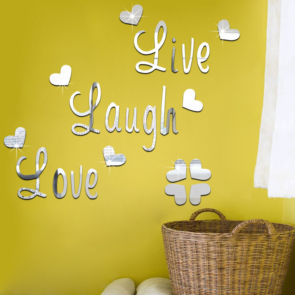 Best ideas about Live Laugh Love Kitchen Decor . Save or Pin Creative Live Love Laugh Craft Bedroom Kitchen Home Decor Now.