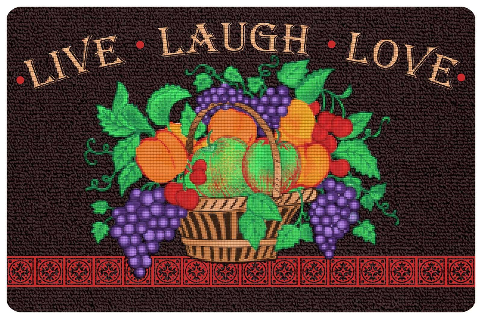 Best ideas about Live Laugh Love Kitchen Decor . Save or Pin Live Laugh Love Kitchen Mat in Floor Mats Now.