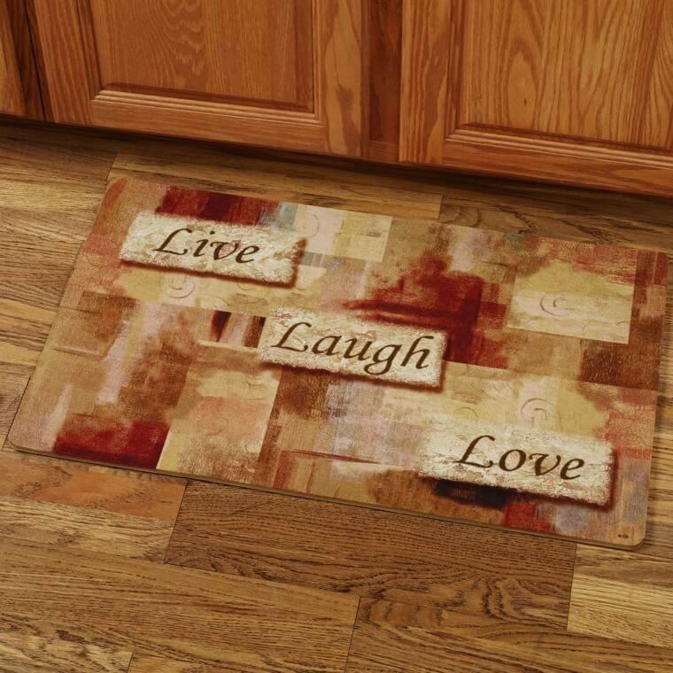 Best ideas about Live Laugh Love Kitchen Decor . Save or Pin Tapis de cuisine moderne pour design unique Now.