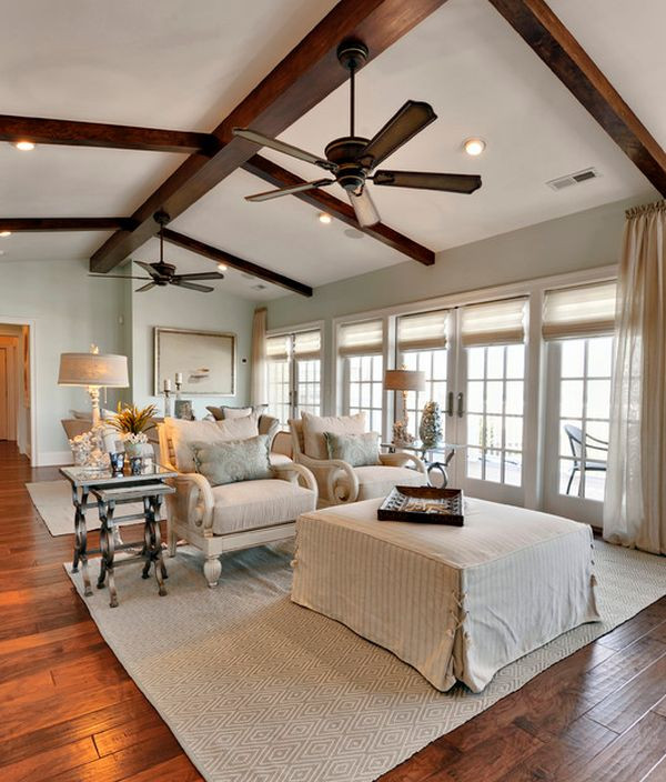 Best ideas about Living Room Ceiling Fan . Save or Pin 125 Living Room Design Ideas Focusing Styles And Now.