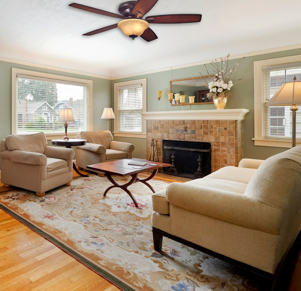 Best ideas about Living Room Ceiling Fan . Save or Pin ceiling fans for low ceilings Now.