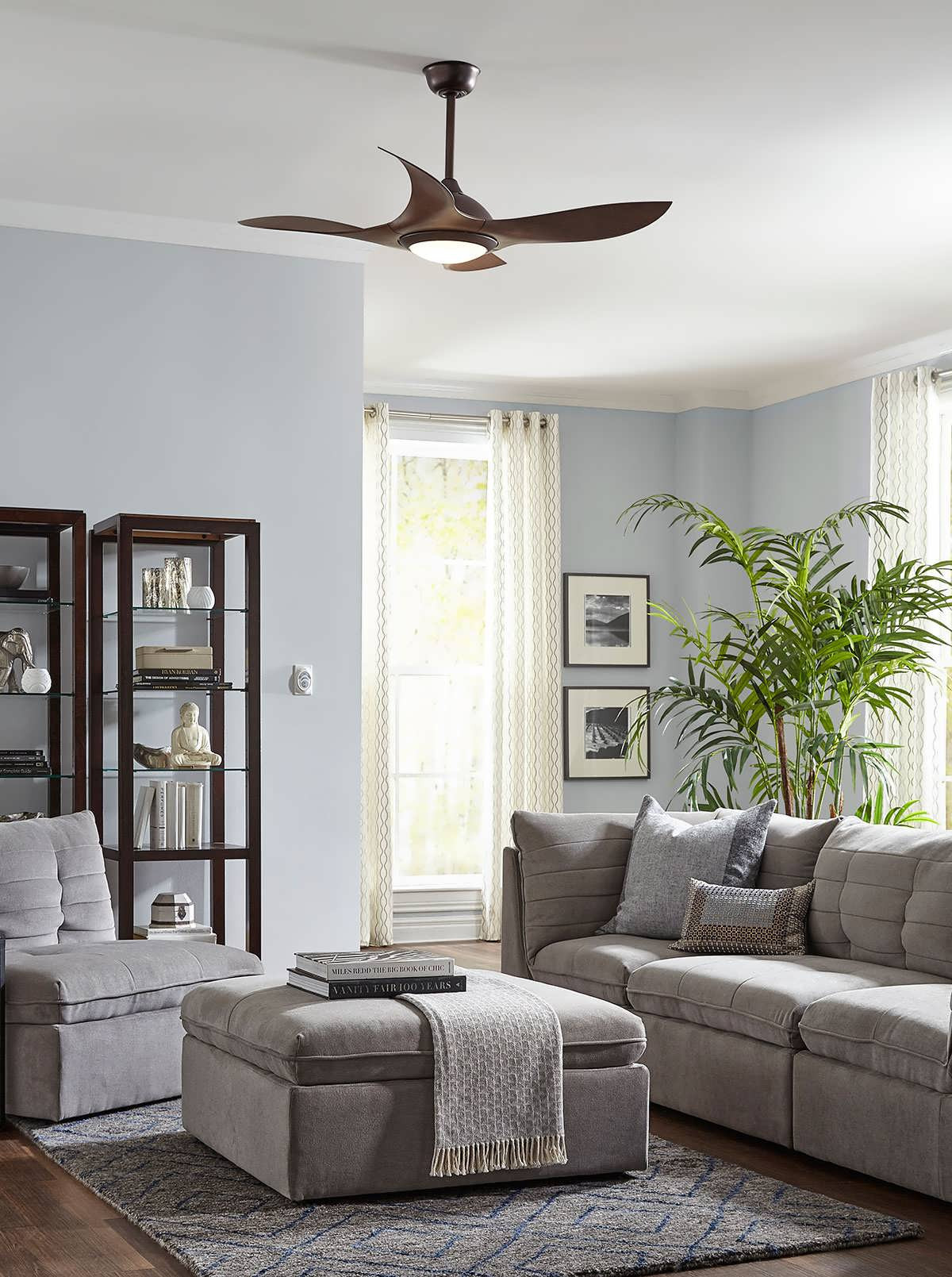 Best ideas about Living Room Ceiling Fan . Save or Pin Living Room White Ceiling Fan Unique Ceiling Fans With Now.