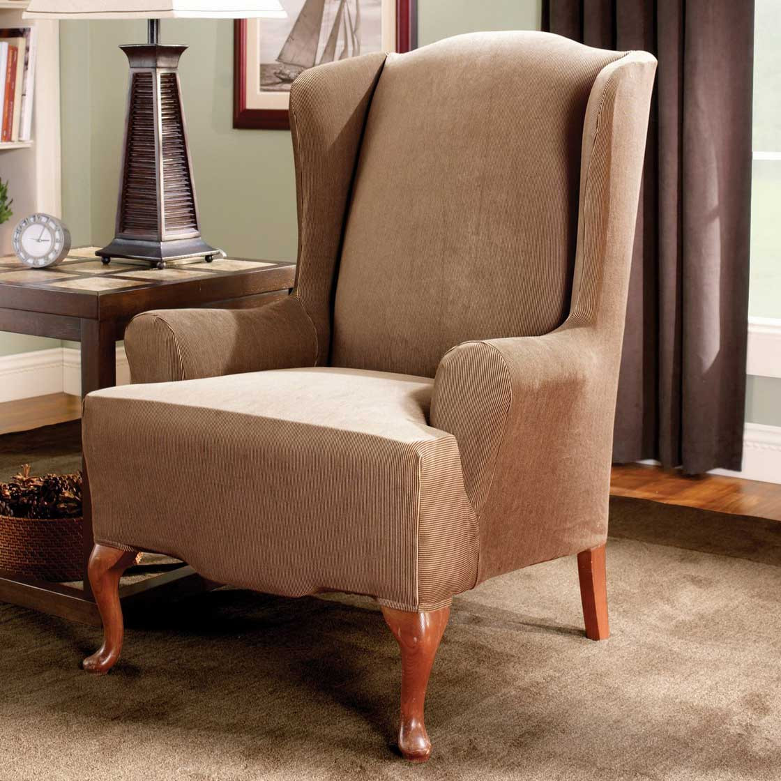 Best ideas about Living Room Chair Covers . Save or Pin Living Room Chairs Covers Now.