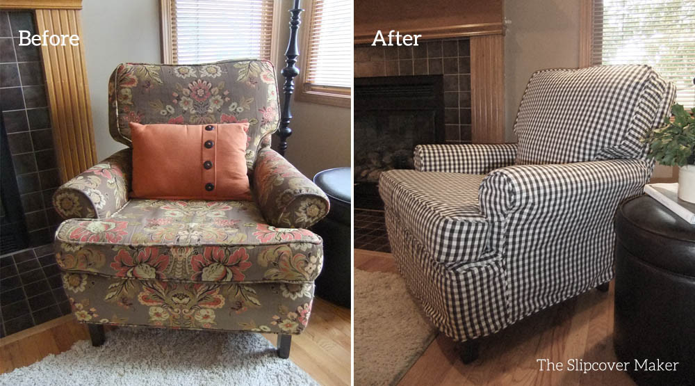 Best ideas about Living Room Chair Covers . Save or Pin Living Room Chair Slipcovers talentneeds Now.