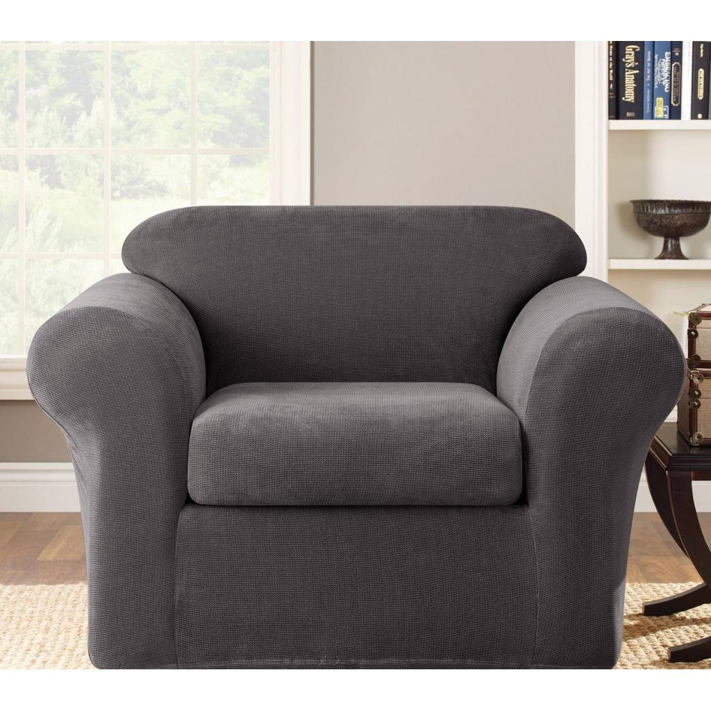 Best ideas about Living Room Chair Covers . Save or Pin Seat Couch Slipcover Furniture Living Room Seater Stretch Now.