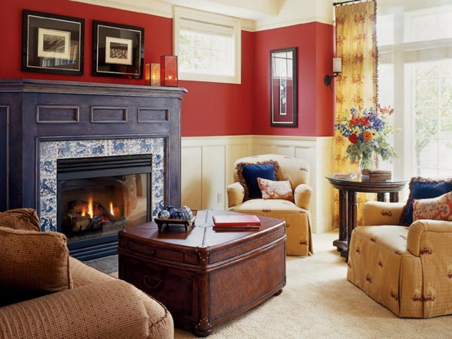 Best ideas about Living Room Color Ideas . Save or Pin Red Living Room Ideas to Decorate Modern Living Room Sets Now.