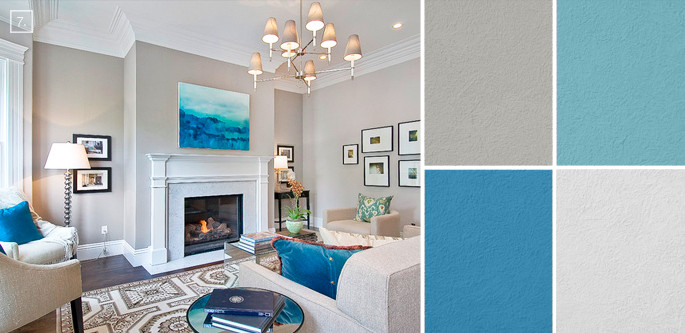 Best ideas about Living Room Color Ideas . Save or Pin Ideas for Living Room Colors Paint Palettes and Color Now.