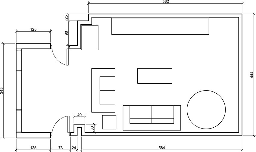 Best ideas about Living Room Dimensions . Save or Pin Living Room Furniture Dimensions Now.