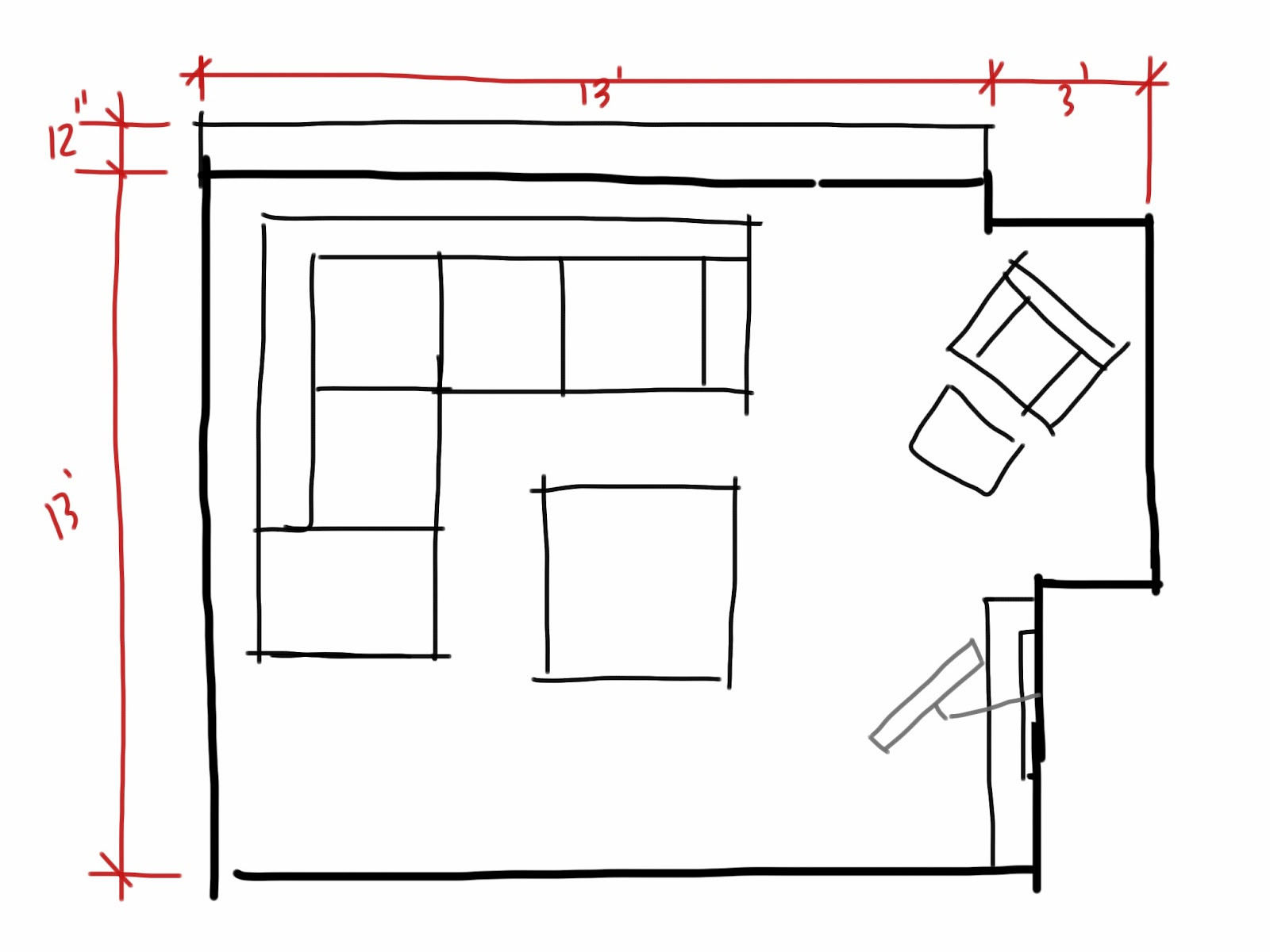 Best ideas about Living Room Dimensions . Save or Pin Planning Living room analysis Now.