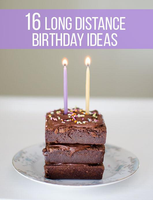 Long Distance Birthday Gift Ideas  16 Fun Long Distance Birthday Ideas to Make Anyone Smile
