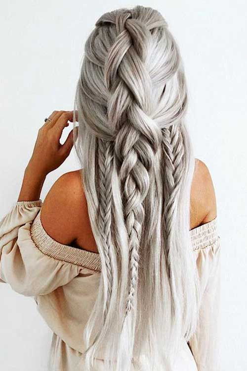 Long Hairstyles Braids  Awesome Braided Long Hairstyles