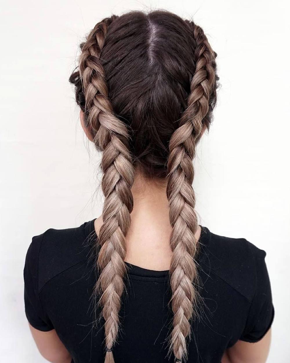 Long Hairstyles Braids  French Braids 2018 Mermaid Half up Side Fishtail etc