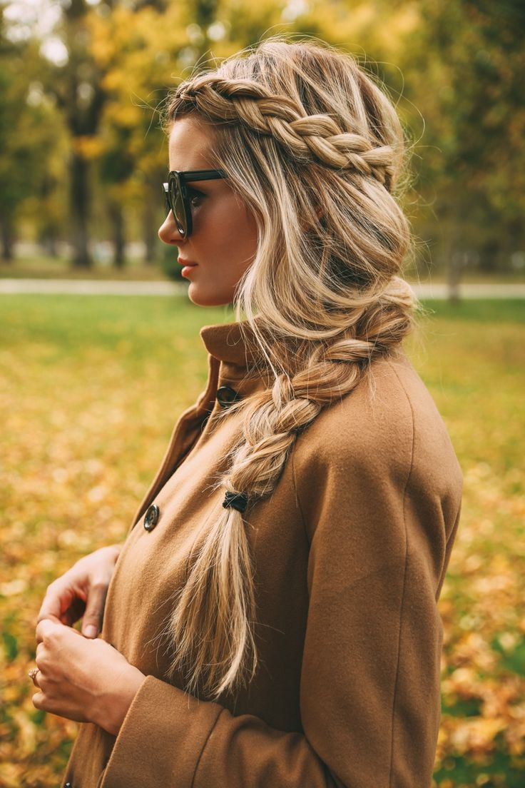 Long Hairstyles Braids  16 Messy Fishtail Braid Ideas For Teenage – Easy Spring