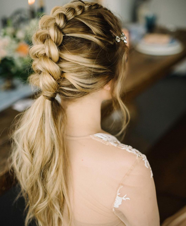 Long Hairstyles Braids  10 Braided Hairstyles for Long Hair Weddings Festivals