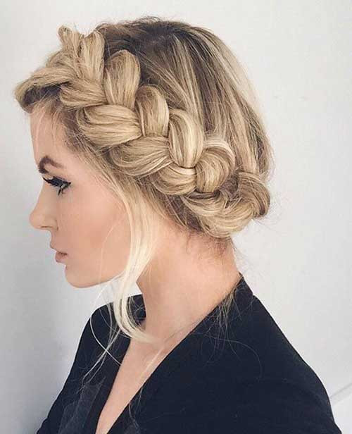 Long Hairstyles Braids  15 Braided Updos for Long Hair