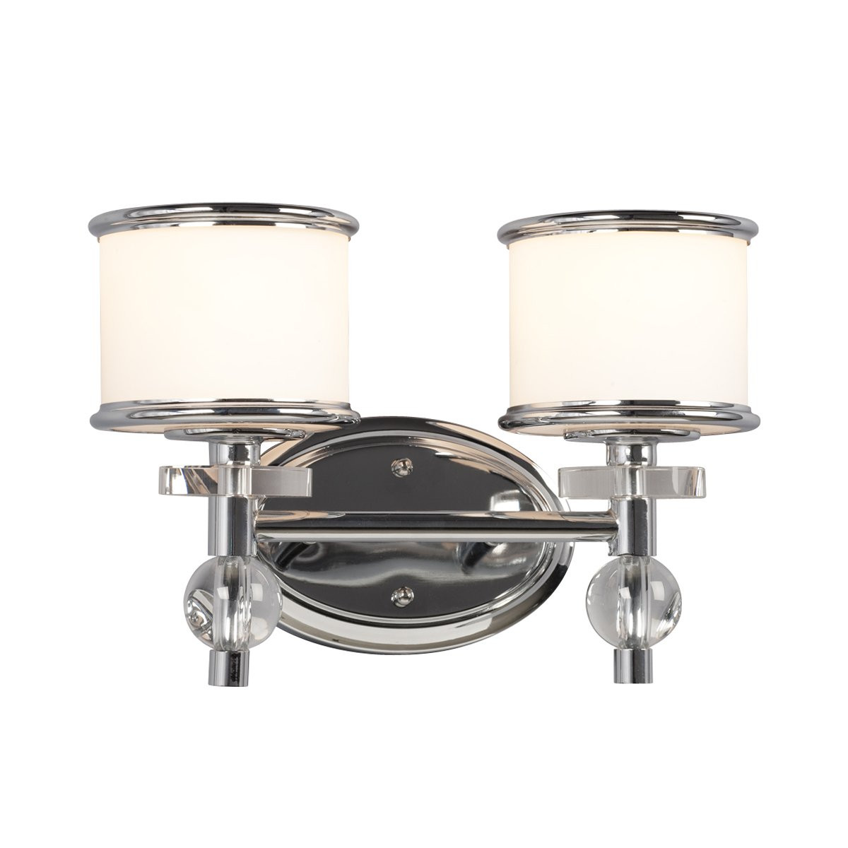 Best ideas about Lowes Bathroom Lighting . Save or Pin Galaxy Lighting Hilton 2 Light Bathroom Vanity Now.