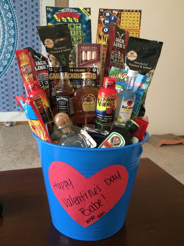Best ideas about Male Gift Ideas For Valentines Day . Save or Pin Liquor Gift Baskets For Men Gift Ftempo Now.