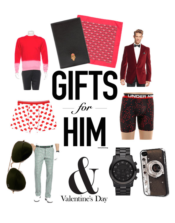 Best ideas about Male Gift Ideas For Valentines Day . Save or Pin Valentine s Gifts for Guys SWEETHAUTE Now.
