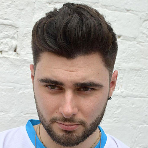 Male Hairstyle For Round Face  Best Hairstyles For Men With Round Faces