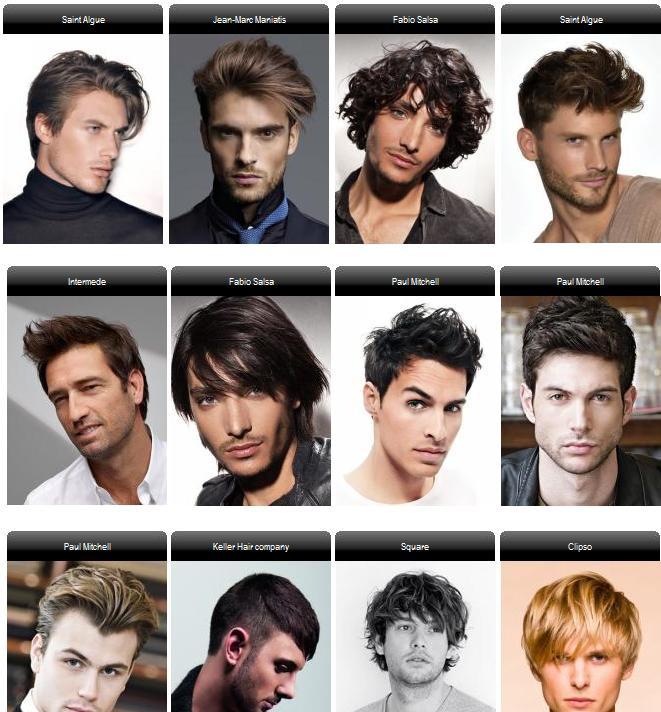 Male Hairstyle Names  Guy Haircut Names