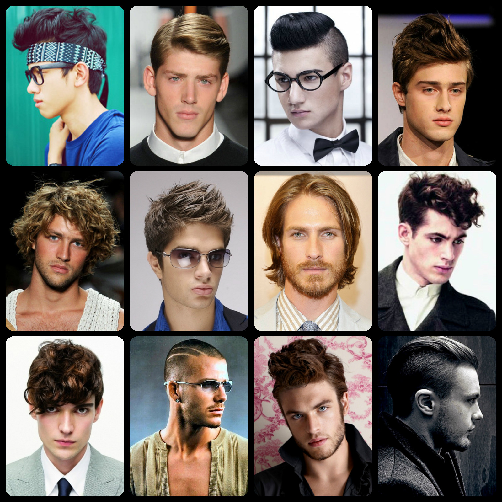 Male Hairstyle Names  Hairstyles For Men Names
