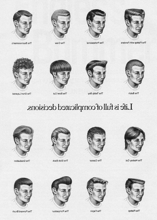 Male Hairstyle Names  Pretty Hairstyle Names for Men List Hairstyles Ideas