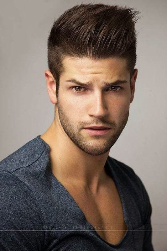 Male Models Hairstyle  17 Best images about Jeremy Baudoin on Pinterest